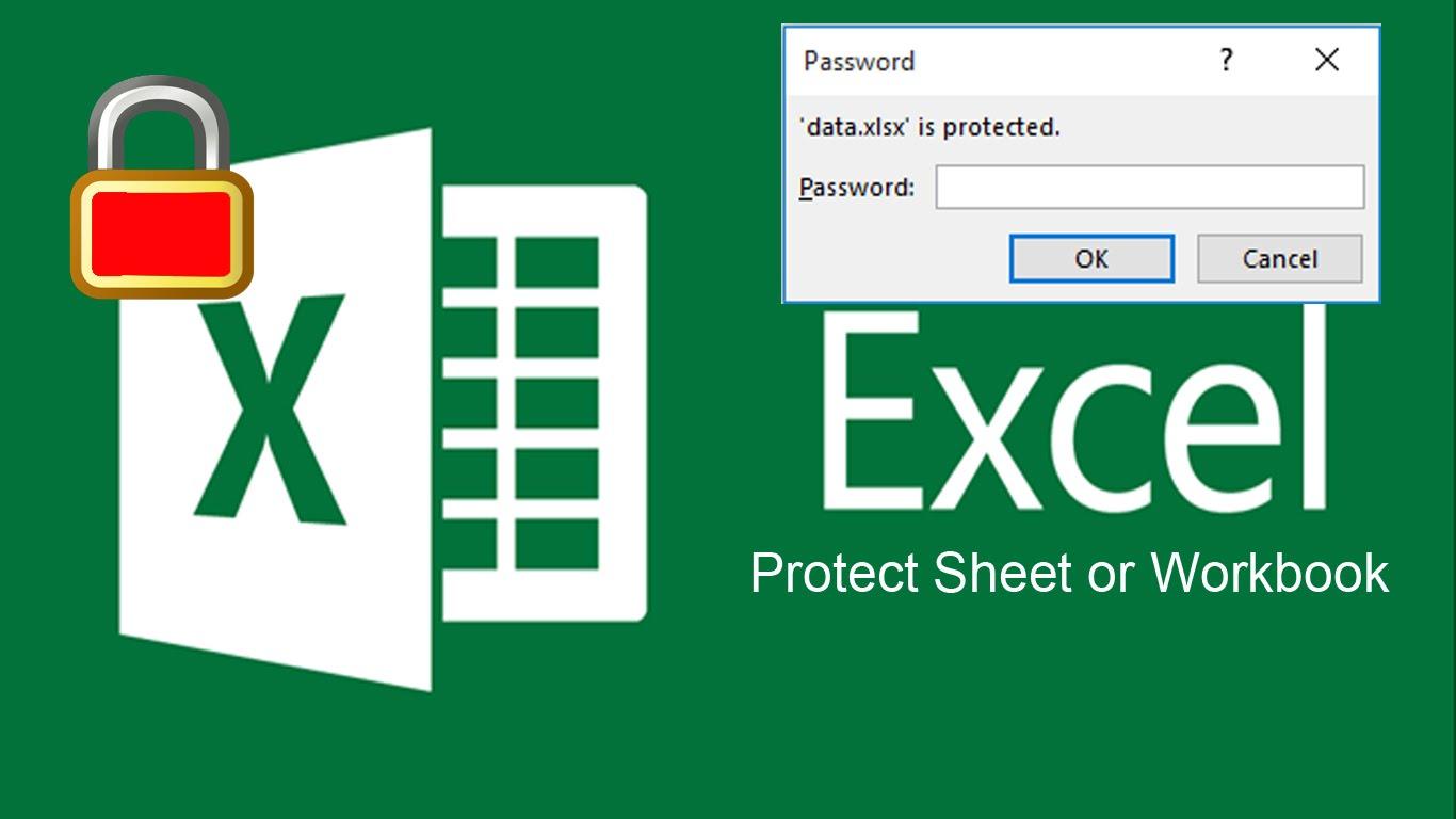 Đặt mật khẩu file Excel 2016
