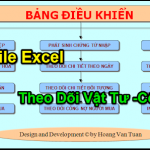 File Excel Quản Lý Công Nợ – Vật Tư